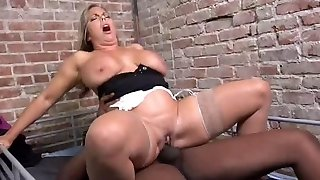 Preview of a MILF Phat Ass White Girl's IR hook-up with a BBC episode