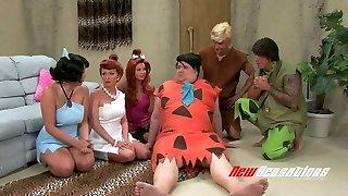 csúnya pornó paródia film a flintstones animáció videó