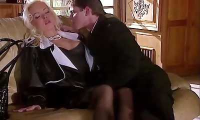 Silvia Saint Plumbs the Lawyer and Wanks His Cum