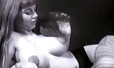Vintage Big Tits Boobs Puffy Nipples Thicket