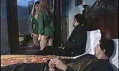Sexy woman in classic porn movie 1