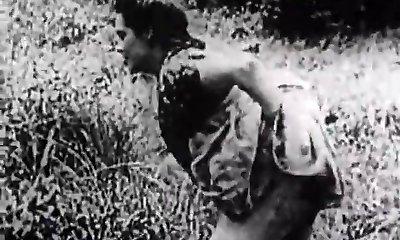 סלע קשה התחברות לרשת בירוק מדו (1930 וינטאג')