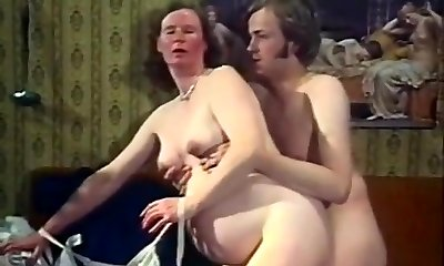 Exotic Amateur clamp with Vintage, Stockings scenes
