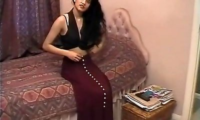 Brit Indian Damsel Shabana Kausar Retro Porn
