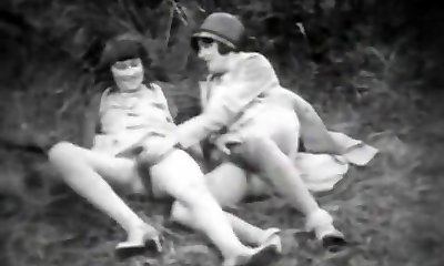 Teenie Beauty and Her Perverted Nanny (1920s Vintage)
