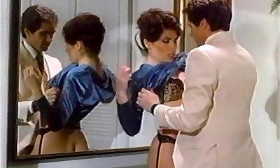 Busty Janey Robbins being ravaged in shower
