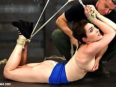Lily LaBeau was kind enough to offer us one of her toughest bondage shoots to date before her...
