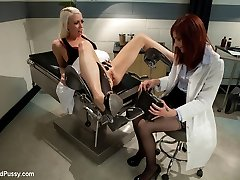 Hit by painful bout of menstrual cramps, Lorelei Lee seeks out medical advice from Dr. Phoenix...