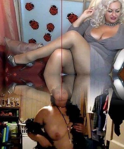 mature pantyjose web cam
