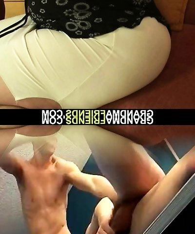 Two friend seduce phat tits mature woman
