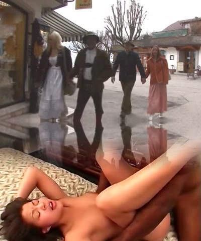 Anal group sex of hawt babes and hard darksome dicks