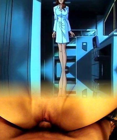 Hot manga porn mom with massive jugs gets fucked
