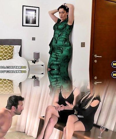 British housewife Leia goes nasty