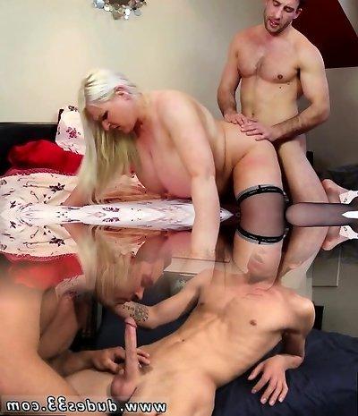 Blonde Plus-size mature get fucked