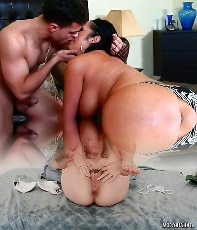 Round mommy Vannah Sterling showcases off her skills