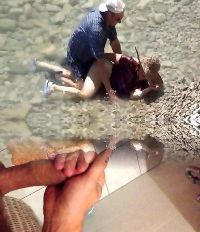 Mature Couple Beach Sex Hidden Cam