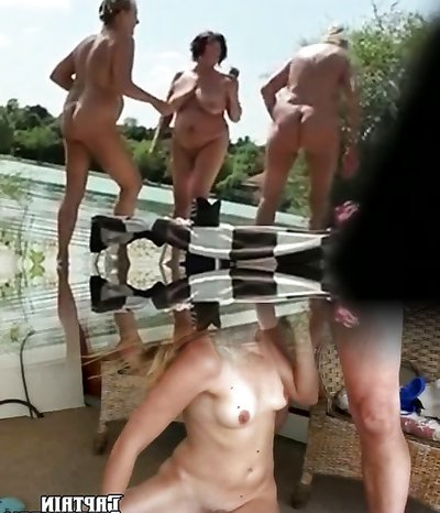 Nudist holiday with my Mom Granny and in laws