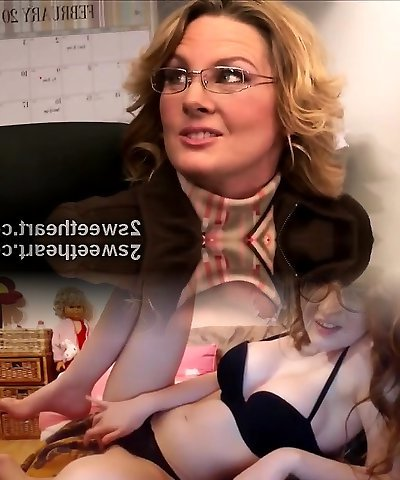 Thick stacked mature secretary trains her new cool mate