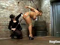 Hot, horny MILF Ava wants it so bad she is willing to do anything Claire wants to get off. Using...