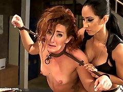 Savannah Fox returns for more spanking, punishment, fisting, deep anal and extreme squirting in this sexploitation women in prison lezdom flick!