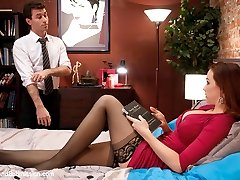Watch the sexy and beautiful Chanel Preston submit to hot and dominant James Deen in this BDSM...