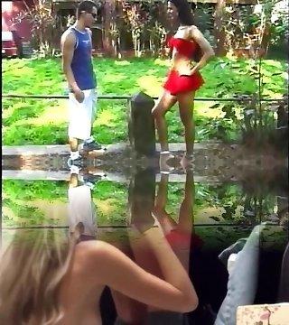 Blowing Her Brazilian Shaft