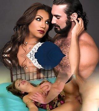 Jaxton Wheeler & Jessy Dubai in Transsexual Sista In Law - TransSensual