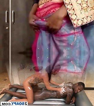 Remove my saree - Desi Call Girl chick Manusha Tranny exposing