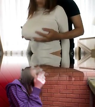 Wife s huge lactating boobs Six