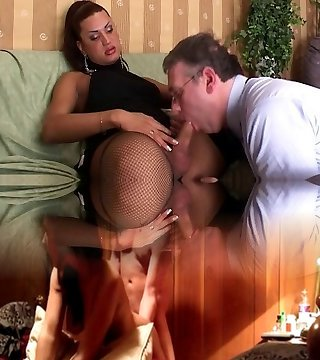 Men ass and throat fucked by t-model