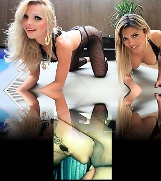 Carla and Milana display us one of the best xxx tranny