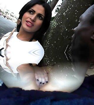 Hot transgender princess hardcore anal and cumshot
