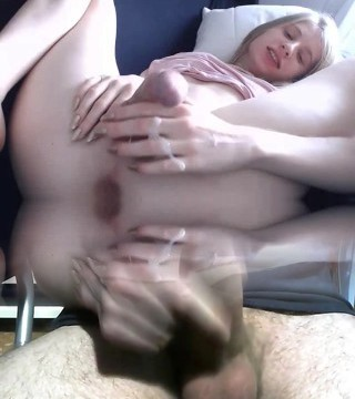 [EXTRATHEME2] Shemale Does an Big Cum
