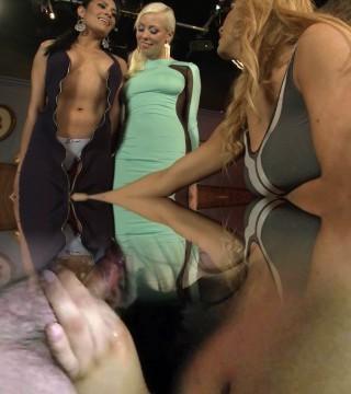 Hot Babes Get Spring Break Threesome