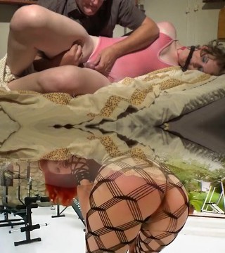 Daddydom Teasing And Edging His Little Submissive Trans Lady In Bondage