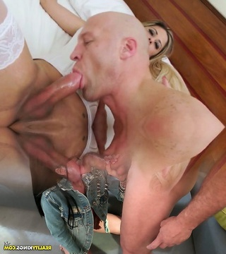 Sexy Nicole and Christian like a butt drilling and sucking