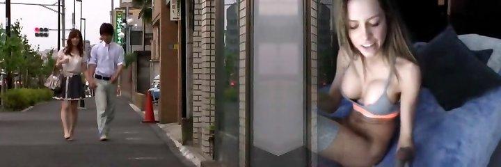 Amazing Japanese bitch Kaede Fuyutsuki in Fabulous Lingerie, Couple JAV clip