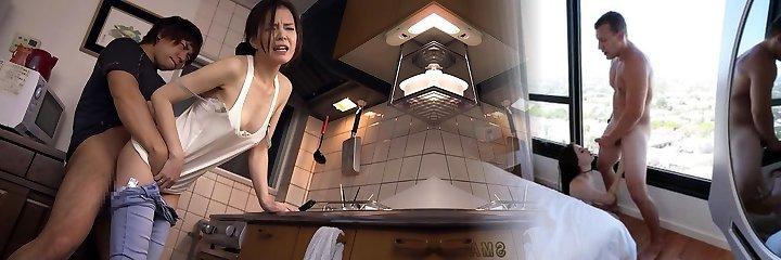 Rika Fucks Sonnie's Friend - MilfsInJapan