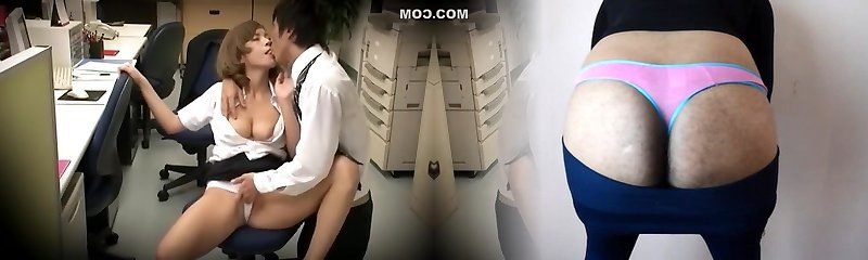 Crazy Japanese chick Sumire Matsu in Epic Covert Cams, Office JAV episode