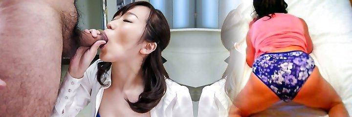 Hottest Japanese slut Hitomi Oki in Fabulous JAV uncensored Milfs episode