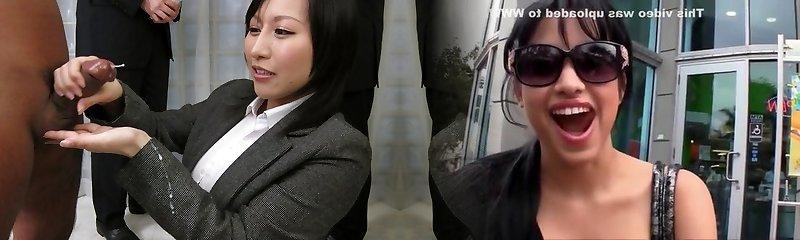 Amazing Chinese whore Yuuna Hoshisaki in Hottest JAV uncensored Handjobs clip