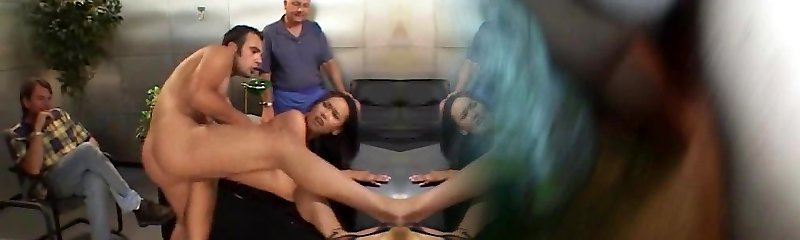 Swinger steamy wife fucks while hubby witnesses