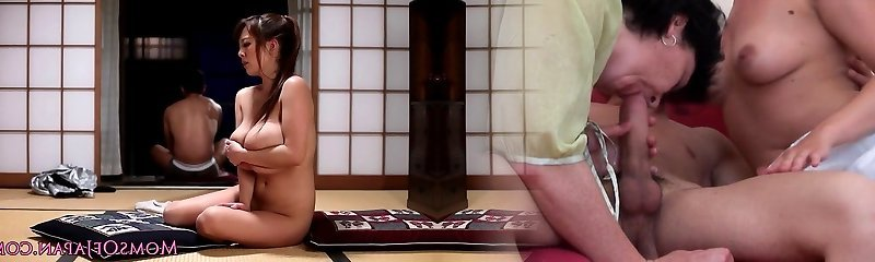 Mature Japanese Hitomi Tanaka titty pulverize