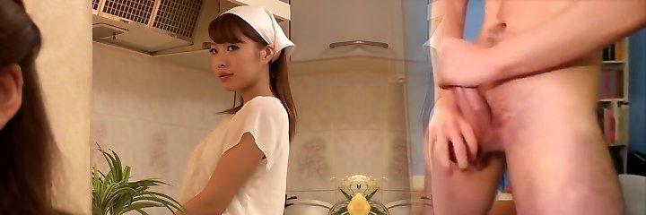Haruna Saeki, Ran Asami in G/g House Maid part 2