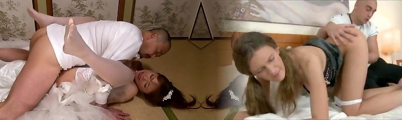 Akiho Yoshizawa in Bride Drilled by her Daddy in Law part Two.2