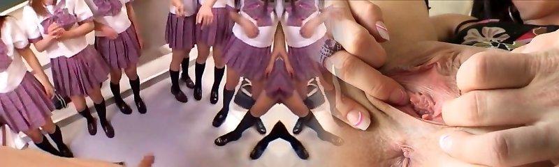 Amazing Japanese girl Michiru Hoshizora, Miyuki Yokoyama, Minami Yoshizawa in Naughty Group Sex, Pov JAV video