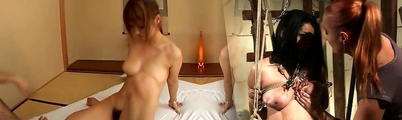 Busty Teen Chinese Babe has Sucking