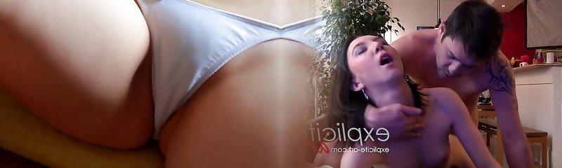 softcore asian schoolgirl upskirt bikini tease