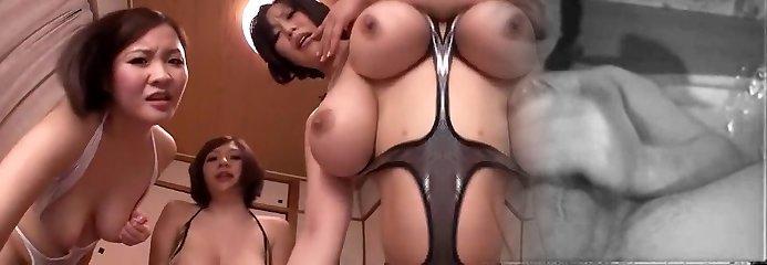 Finest Japanese girl Shiori Yuino, Sachika Manabe, Yuki Maeda in Astounding Bikini, Group Sex JAV scene