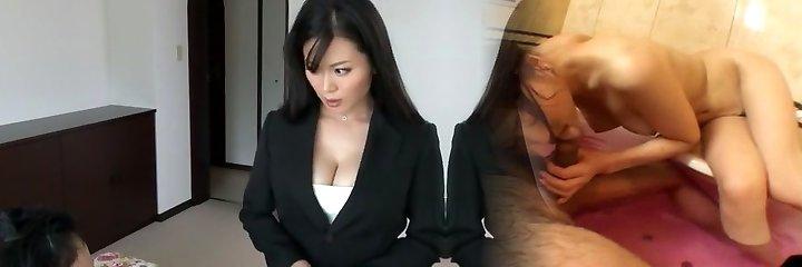 Sumptuous Chinese slut Miki Sato in Hottest Secretary, Big Tits JAV pinch